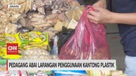 VIDEO: Pedagang Abai Larangan Penggunaan Kantong Plastik