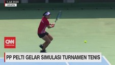 VIDEO: PP Pelti Gelar Simulasi Turnamen Tenis