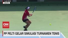 VIDEO: PP Pelti Gelar Simulasi Turnamen Tenis