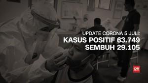 VIDEO: 5 Juli, Kasus Positif Corona 63.749