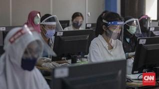 UTBK untuk Peserta Demam dan Reaktif Covid Digelar 30 Juli