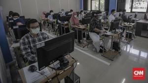 FOTO: UTBK Tahap Pertama di Tengah Pandemi