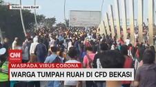 VIDEO: Warga Tumpah Ruah di CFD Bekasi