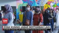 VIDEO: Zona Kuning Covid-19 Jabar Bertambah Lagi