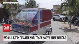 VIDEO: Mobil Listrik Penjual Nasi Pecel Karya Anak Bangsa