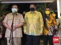 Airlangga Bertemu Prabowo Bahas Dukungan untuk Jokowi