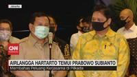 VIDEO: Airlangga Temui Prabowo Bahas Kerjasama di Pilkada
