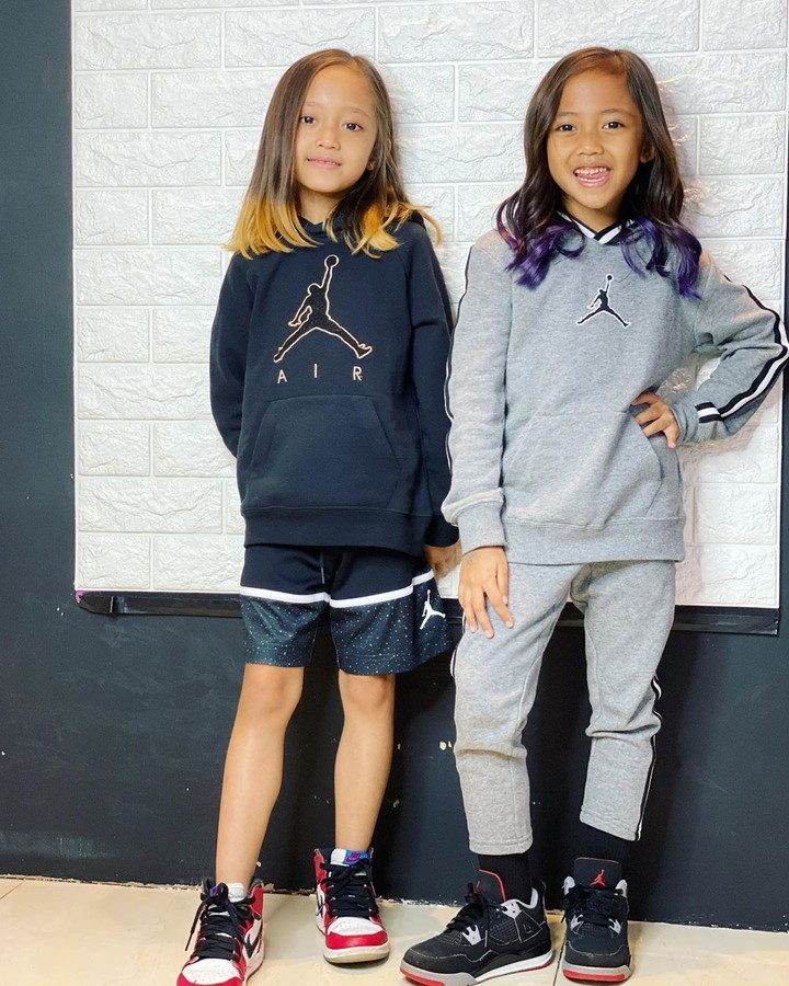Alana dan Alecia, Anak Ririn Dwi Ariyanti