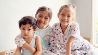 <p>Menikah dengan Aldi Bragi, pesinetron Ririn Dwi Ariyanti dikaruniai dua anak perempuan dan satu laki-laki. Dua anak perempuannya ini sering dikira kembar, Bunda. (Foto: Instagram @ririndwiariyanti)</p>