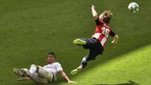 FOTO: Penalti Bawa Real Madrid Makin Dekat dengan Juara Liga