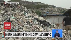 VIDEO: Polemik Limbah Medis Tercecer di TPA Bantargebang