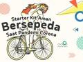 INFOGRAFIS: Starter Kit Aman Bersepeda Saat Pandemi Corona