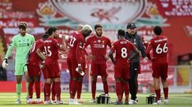 Rekor Kandang Liverpool: 57 Laga Tak Terkalahkan