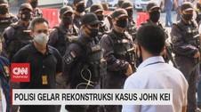 VIDEO: Polisi Gelar Rekonstruksi Kasus John Kei