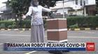 VIDEO: Pasangan Robot Pejuang Covid-19 Pembantu Tenaga Medis