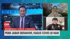 VIDEO: PSBB Jabar Berakhir, Kasus Covid-19 Naik