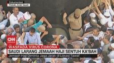 VIDEO: Saudi Larang Jemaah Haji Sentuh Ka'bah