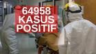 VIDEO: 64.958 Kasus Positif Covid-19 di Indonesia