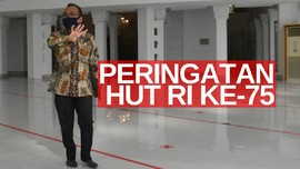 VIDEO: Upacara HUT Ke-75 RI Digelar Virtual