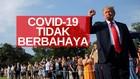VIDEO: Presiden Trump: Virus Corona Tidak Berbahaya