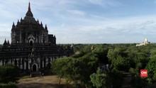 VIDEO: Sepi Turis, Situs Suci di Myanmar Diincar Penjarah