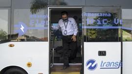 TransJakarta Siapkan 30 Bus Listrik Beroperasi saat HUT DKI