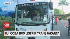 VIDEO: Uji Coba Bus Listrik Transjakarta