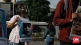 Aksi Perdana Selasa-an adalah aksi protes sebagai sebuah sikap penolakan atas dikeluarkannya RUU Penghapusan Kekerasan Seksual (RUU P-KS) dari program Legislasi Nasional (Plolegnas) prioritas 2020. Jakarta, Selasa(7/7/2020). CNN Indonesia/Andry Novelino