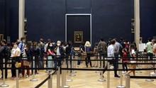FOTO: Bertemu Lagi dengan Mona Lisa di Museum Louvre