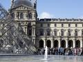 Gambar Swastika Dekat Museum Louvre, Pria di Paris Ditangkap