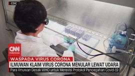 VIDEO: Ilmuwan Klaim Virus Corona menular Lewat Udara