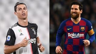 Akhir Ronaldo dan Messi di Daftar Top Skor Liga Champions