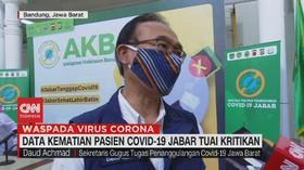 VIDEO: Data Kematian Pasien Covid-19 Jabar Tuai Kritikan