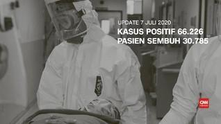 VIDEO: Update 7 Juli, Pasien Sembuh Covid-19 Tembus 30 Ribu