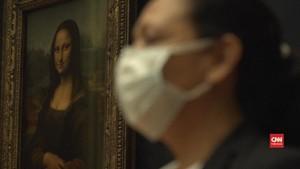 VIDEO: 70 Persen Area Museum Louvre Kembali Dibuka