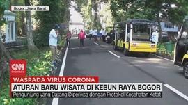 VIDEO: Aturan Baru Wisata di Kebun Raya Bogor