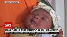 VIDEO: Bayi Baru Lahir Ditinggal Ibu Kandung