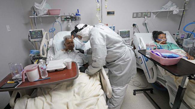 Jumlah kasus infeksi virus corona di Amerika Serikat saat ini tercatat melampaui 25 juta orang.
