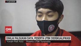 VIDEO: Dinilai Palsukan Data, Peserta UTBK Didiskualifikasi