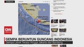 VIDEO: Gempa Beruntun Guncang Indonesia, Ini Kata BMKG
