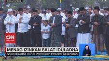 VIDEO: Menag Izinkan Salat Iduladha