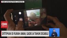VIDEO: Dititipkan di Rumah Aman, Gadis 14 Tahun Dicabuli