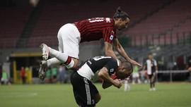 Ibrahimovic Cetak Gol, Milan Hajar Juventus