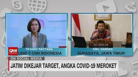 VIDEO: Jatim Dikejar Target, Angka Covid-19 Meroket