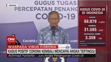 VIDEO: Kasus Positif Corona Kembali Mencapai Angka Tertinggi
