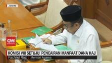 VIDEO: Komisi VIII Setujui Pencairan Manfaat Dana Haji
