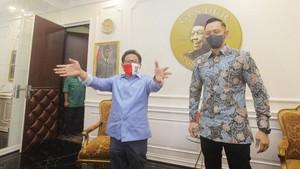 Cak Imin: Saya Dorong AHY Masuk Kabinet, Gerindra Nyelonong