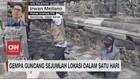 VIDEO: Gempa Guncang Sejumlah Lokasi Dalam 1 Hari