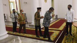 Istana Perketat Protokol Kesehatan, Tamu Jokowi Harus Swab