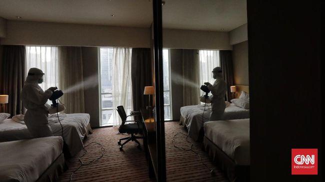 Hotel Indonesia Natour mengeluhkan tingkat keterisian (okupansi) kamar hotel yang terjun bebas karena pandemi covid-19.